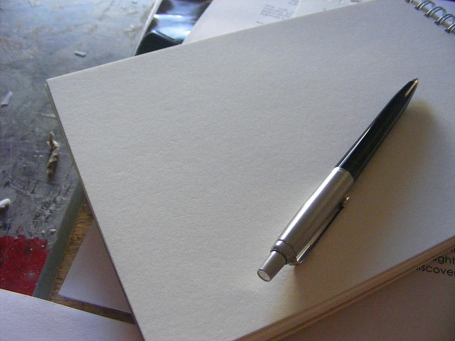 Pen and paper by Guudmorning! on Flickr
