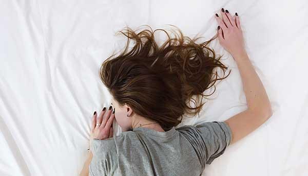 Image of a girl sleeping