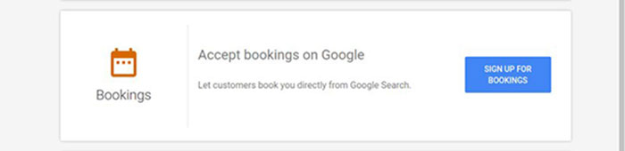 Book with Google