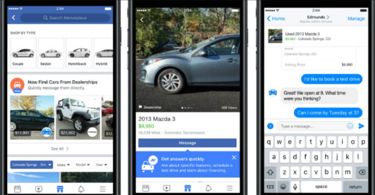 Pay with Paypal through Facebook messenger