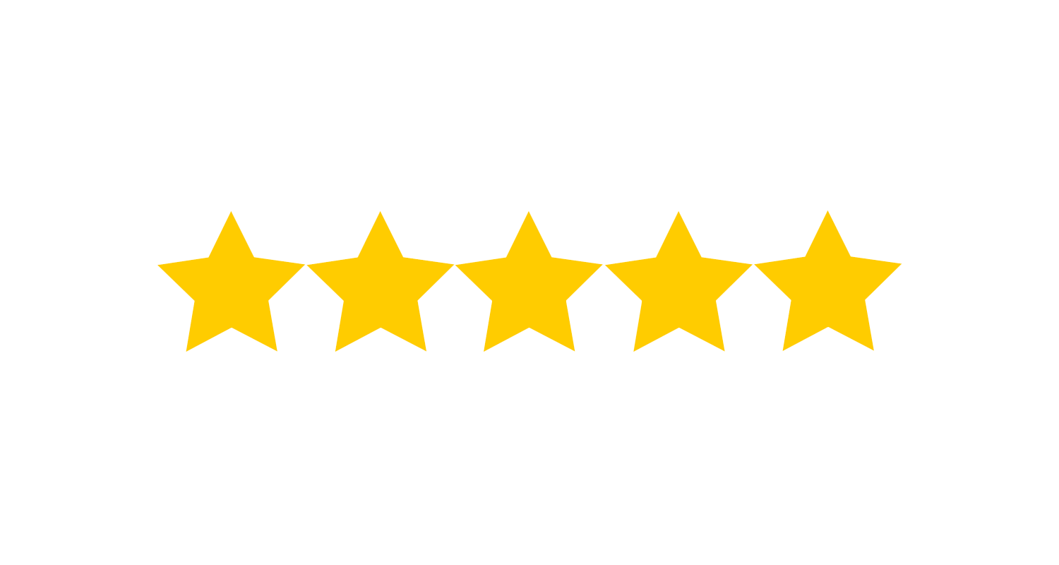 five yellow stars