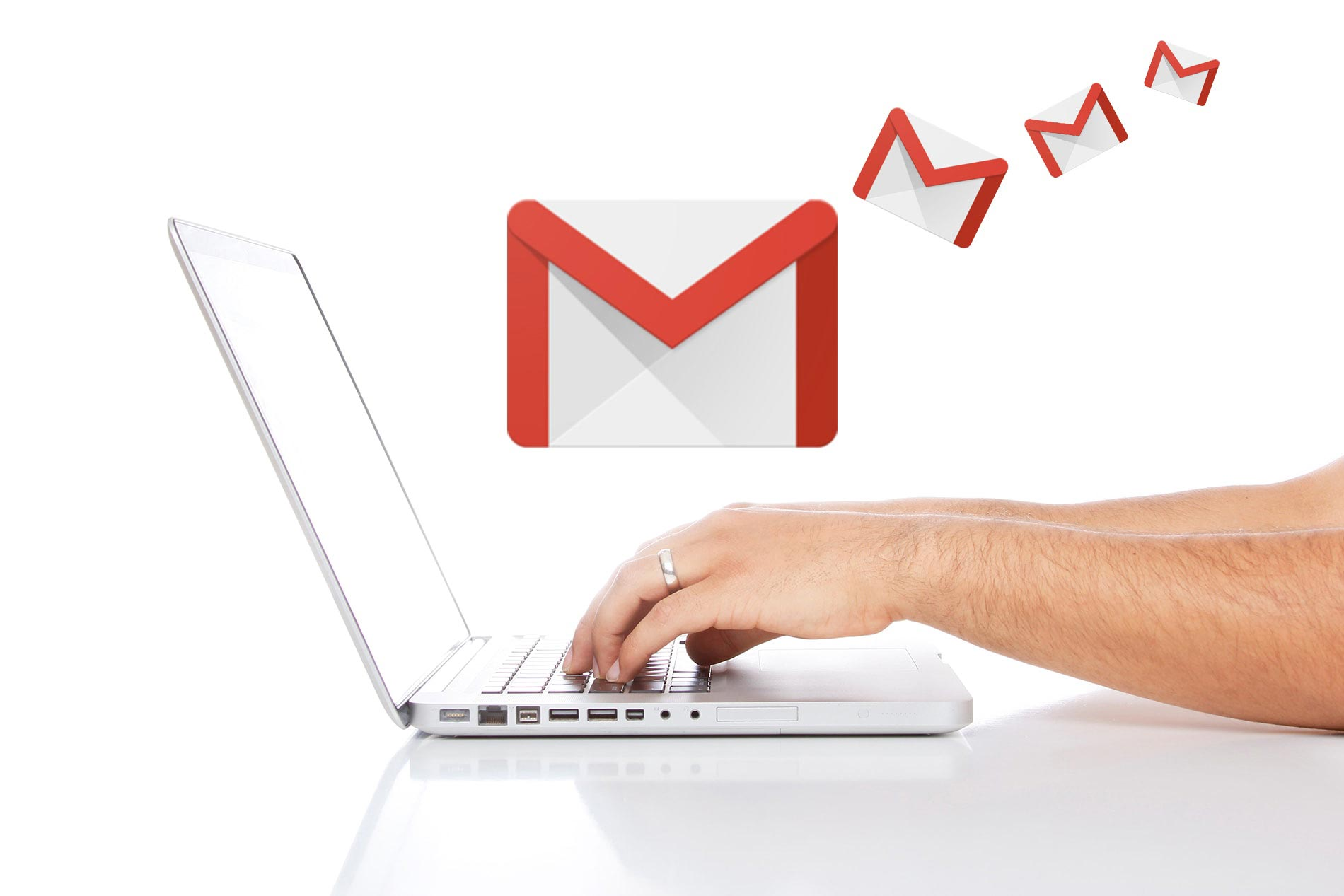 typing-Mac-computer-Gmail