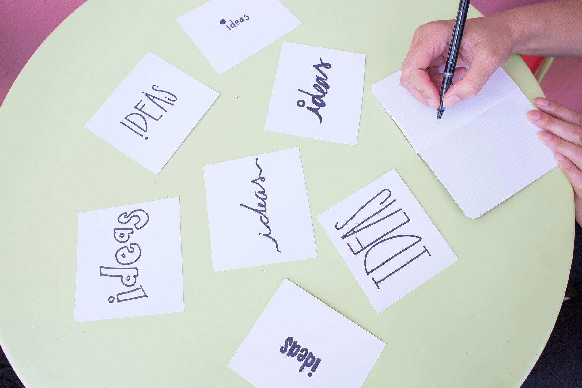 innovation-ideas-on-paper