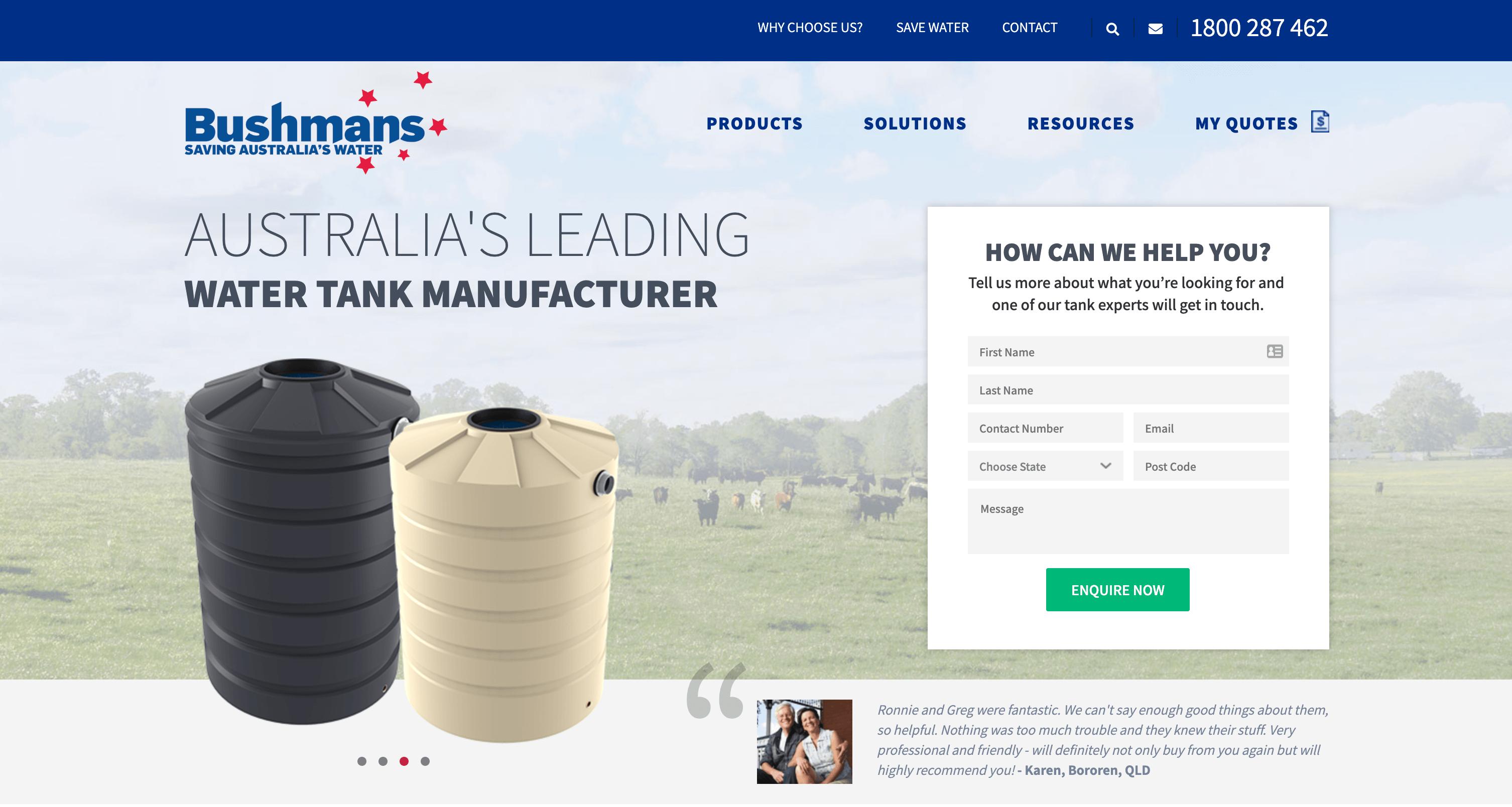 buhman tanks website screenshot (1)